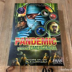 Juegos antiguos: JUEGO DE MESA - ESTADO DE EMERGENCIA - EXPANSIÓN PANDEMIC - Z-MAN GAMES - EDICIÓN ESPAÑOL. Lote 188607210