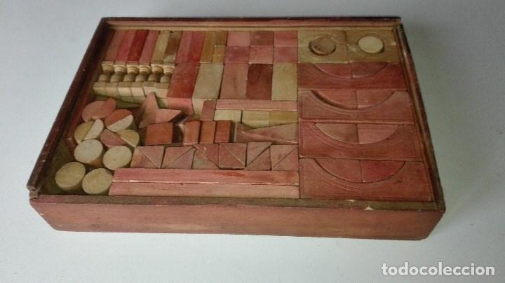 ANTIGUO JUEGO CONSTRUCCION (Juguetes - Juegos - Otros)