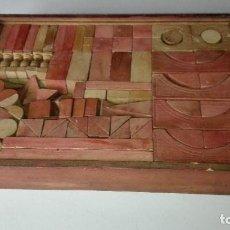 Juegos antiguos: ANTIGUO JUEGO CONSTRUCCION. Lote 189946780