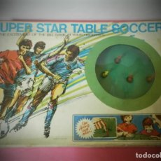 Juegos antiguos: JUEGO FUTBOL ANTIGUO FUTBOLIN SUPER STAR TABLE SOCCER.. Lote 190162390