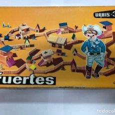 Juegos antiguos: CAJA FUERTES URBIS-3 CONTIENE MANUAL Y CATALOGO DE GOULA CONTRUCCIONES EN MADERA. Lote 190324470