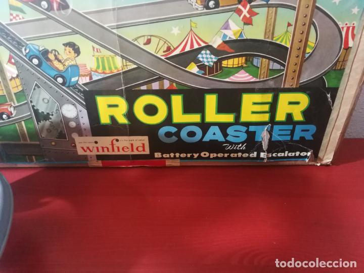 Juegos antiguos: UNICO EN TC ANTIGUO JUEGO ROLLER COASTER WINFIELD REMONTADOR AÑOS 50 - Foto 2 - 190874640