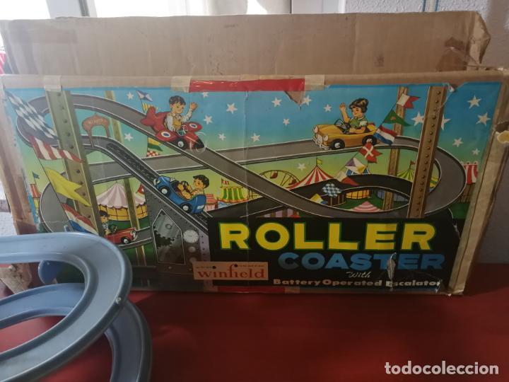 Juegos antiguos: UNICO EN TC ANTIGUO JUEGO ROLLER COASTER WINFIELD REMONTADOR AÑOS 50 - Foto 3 - 190874640