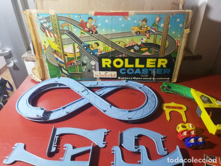Juegos antiguos: UNICO EN TC ANTIGUO JUEGO ROLLER COASTER WINFIELD REMONTADOR AÑOS 50 - Foto 10 - 190874640