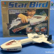Juegos antiguos: STAR BIRD - MB ELECTRONICS - ANTIGUA NAVE ELÉCTRICA - FUNCIONA CORRECTAMENTE. Lote 191084802