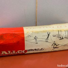 Juegos antiguos: ANTIGUO Y RARO JUEGO AL AIRE LIBRE, IMPECABLE, BALCO-BALL, PLEIN-AIR, SIMILAR AL VOLEIBOL. Lote 191504396