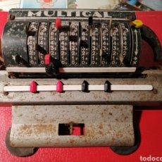 Juegos antiguos: CALCULADORA ANTIGUA MULTICAL FRANCIA AÑOS 50-60. Lote 191591872
