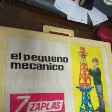 Juegos antiguos: EL PEQUEÑO MECANICO ZAPLAS. Lote 192436801