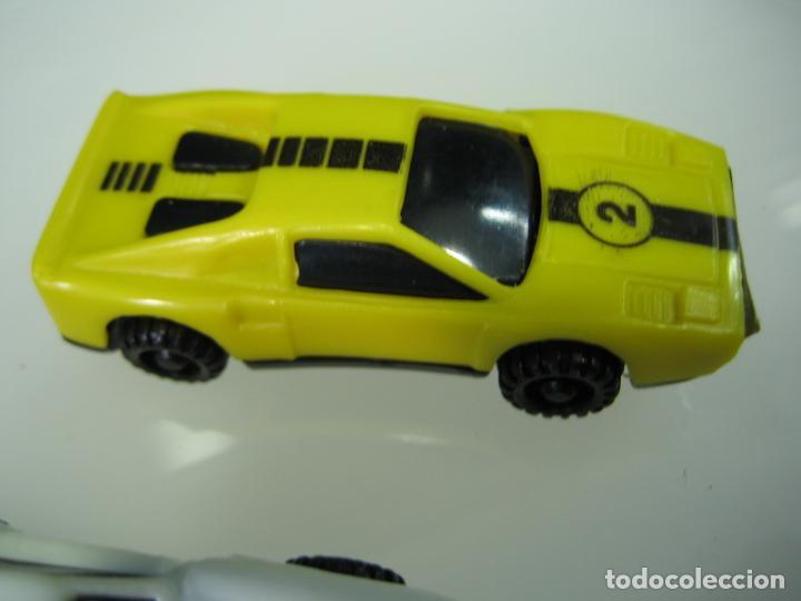 Juegos antiguos: Auto Cross de Mattel 1990. Falta arco de meta. Tiene los coches - Foto 16 - 32746923