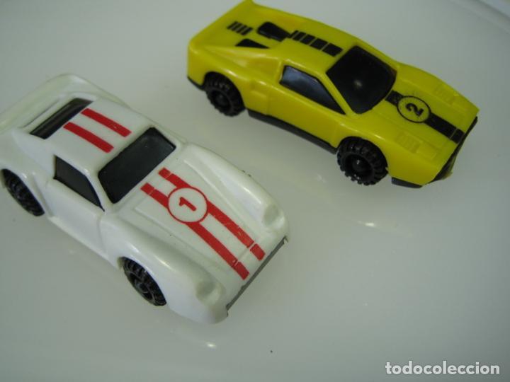 Juegos antiguos: Auto Cross de Mattel 1990. Falta arco de meta. Tiene los coches - Foto 18 - 32746923