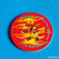 Juegos antiguos: TAZO POKÉMON2 . # 126 MAGMAR .AÑO . 2000 DE NINTENDO. Lote 194285103