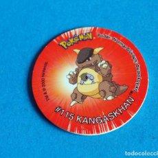 Juegos antiguos: TAZO POKÉMON2 . # 115 KANGASKHAN .AÑO . 2000 DE NINTENDO. Lote 194285460