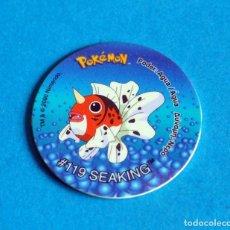 Juegos antiguos: TAZO POKÉMON2 . #119 SEAKING .AÑO . 2000 DE NINTENDO. Lote 194285907