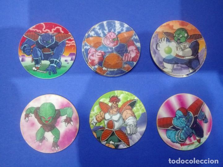 LOTE 6 DRAGONBALL TAZOS (Juguetes - Juegos - Otros)
