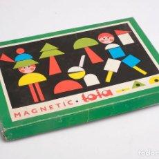 Juegos antiguos: JUEGO MAGNETIC TOIA. AÑOS 70. Lote 194354853