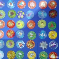 Juegos antiguos: LOTE 42 TAZOS POKÉMON TAZO 2 DE MATUTANO 2000 - INCLUYE 1 PORTATAZOS OFICIAL. Lote 194495858