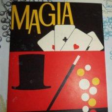 Juegos antiguos: ANTIGUO CUADERNO DE INSTRUCCIONES DEL JUEGO MAGIA BORRAS 4 CON LOS TRUCOS 22 PAGINAS. Lote 194578857