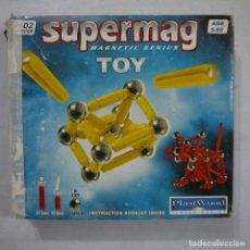 Juegos antiguos: SUPERMAG MAGNETIC GENIUS TOY. TIPO GEOMAG . Lote 194624816
