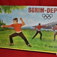 Juegos antiguos: SGRIM DEPORTE ES UNA CREACION REMEAL NUEVO A ESTRENAR. Lote 194627117