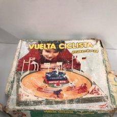 Juegos antiguos: ANTIGUA VUELTA CICLISTA PACTRA. FUNCIONA A PILAS. AÑOS 70. VER DESCRIPCION.. Lote 194639360