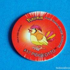 Juegos antiguos: TAZO POKÉMON2 . # 17 PIDGEOTTO .AÑO . 2000 DE NINTENDO. Lote 194734793