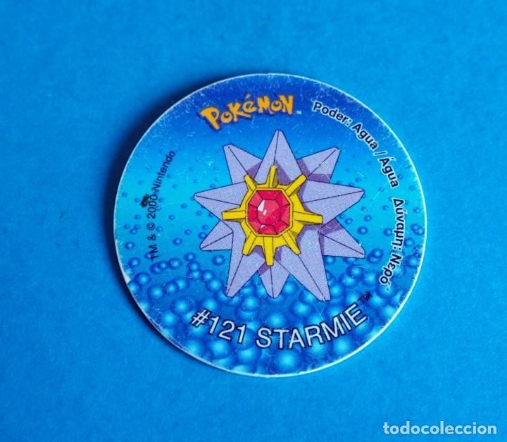 TAZO POKÉMON2 . # 121 STARMIE .AÑO 2000 DE NINTENDO (Juguetes - Juegos - Otros)