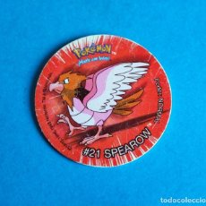 Juegos antiguos: TAZO POKÉMON . # 21 SPEAROW . DE NINTENDO. Lote 194892090