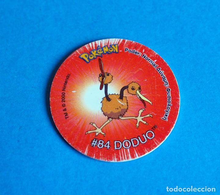 TAZO POKÉMON2 . # 84 DODUO .AÑO 2000 DE NINTENDO (Juguetes - Juegos - Otros)