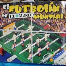 Juegos antiguos: FUTBOLIN MUNDIAL EL MUNDO TOTALMENTE PRECINTADO ORIGINAL VER FOTOS Y LEER-RABAJADO. Lote 194932303