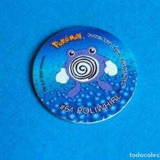 Juegos antiguos: TAZO POKÉMON2 . # 61 POLIWHIRL .AÑO . 2000 DE NINTENDO. Lote 194951905