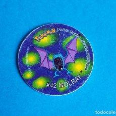Juegos antiguos: TAZO POKÉMON2 . # 42 GOLBAT .AÑO . 2000 DE NINTENDO. Lote 195038633