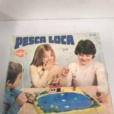 Juegos antiguos: PESCA LOCA. Lote 195116302