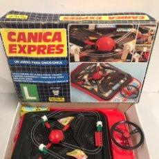 Juegos antiguos: CANICA EXPRES. Lote 195133491