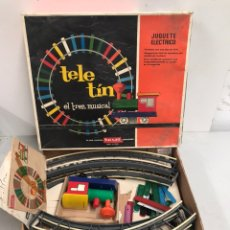 Juegos antiguos: TELE TIN - EL TREN MUSICAL. Lote 195133663