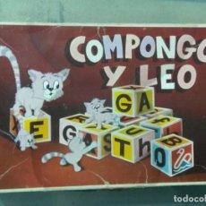 Juegos antiguos: COMPONGO Y LEO ROMPECABEZAS. D.C.P. Lote 195142641