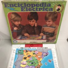 Juegos antiguos: ENCICLOPEDIA ELÉCTRICA. Lote 195145442