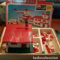 Juegos antiguos: JUEGO DE CONSTRUCCIÓN CENTRO MÉDICO DE POLLY HOBBY, REF. 975. Lote 195165390