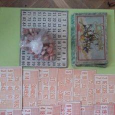 Juegos antiguos: LOTERIA AÑOS 30 COMPLETO ENRIQUE BORRAS Y CIA. Lote 195210027