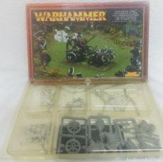 Juegos antiguos: WARHAMMER CARRO DR HOMBRES BESTIA. Lote 195283213