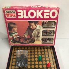 Juegos antiguos: JUEGOS GEYPERMAN - BLOKEO. Lote 195321045