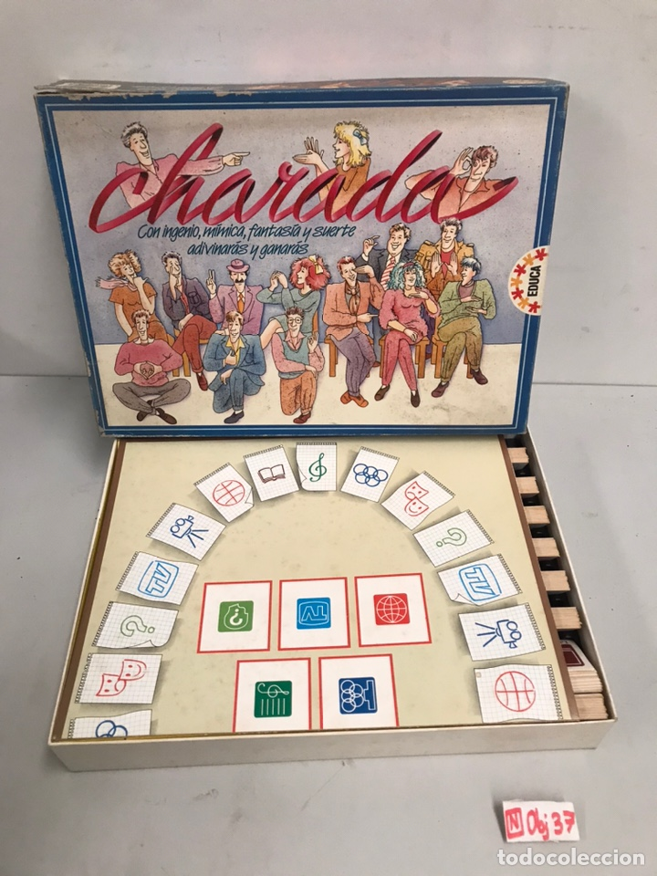 CHARADAS (Juguetes - Juegos - Otros)
