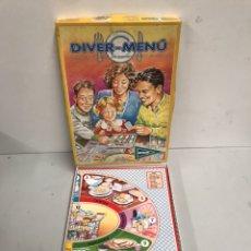 Juegos antiguos: DIVER-MENÚ. Lote 195323410