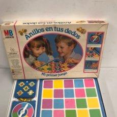 Juegos antiguos: ANILLOS DE TUS DEDOS. Lote 195323528