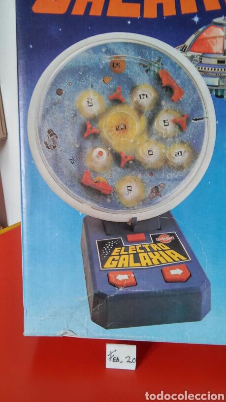 Juegos antiguos: JUEGO ELECTRO GALAXIA A PILAS.CONGOST 1981.SIN USO,EN CAJA.NO FUNCIONA. - Foto 4 - 195358465