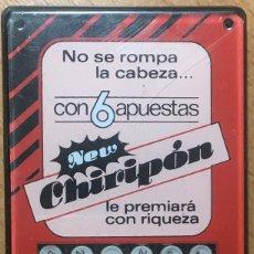 Juegos antiguos: MAQUINA GENERADORA DE COMBINACIONES PARA PRIMITIVA Y BONOLOTO. Lote 195369987