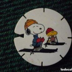 Juegos antiguos: TAZO SNOOPY CAPS COLLECTION - GREFUSA - Nº 14. Lote 195417352