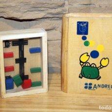 Juegos antiguos: JUEGO DE HABILIDAD - MADERA - ANDREU TOYS - NUEVO A ESTRENAR. Lote 196193257