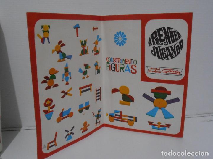 Juegos antiguos: JUEGO EDUCATIVO, CONSTRUYENDO FIGURAS, APRENDER JUGANDO GOULA, AÑOS 70 - Foto 3 - 197521591