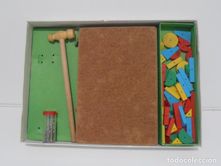 Juegos antiguos: JUEGO EDUCATIVO, CONSTRUYENDO FIGURAS, APRENDER JUGANDO GOULA, AÑOS 70 - Foto 4 - 197521591
