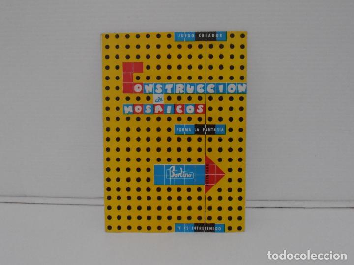 Juegos antiguos: JUEGO CONSTRUCCION DE MOSAICOS, BORLINO CUADRO, MADE IN SPAIN AÑOS 70 - Foto 4 - 197575595